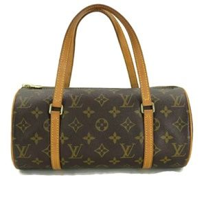💯 AUTH LOUIS VUITTON PAPILLON 28 Handbag